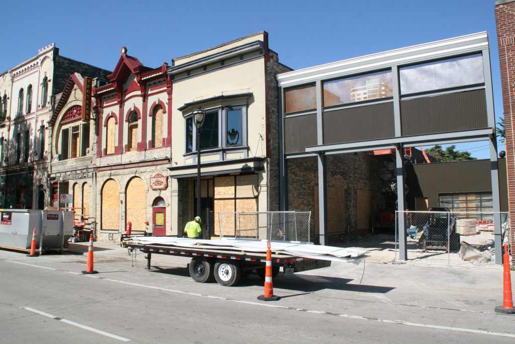 Brothers Bar & Grill expansion. Photo by Jeramey Jannene.