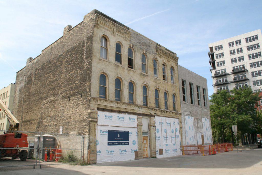 Future Sofi Lofts Development. Photo by Jeramey Jannene.