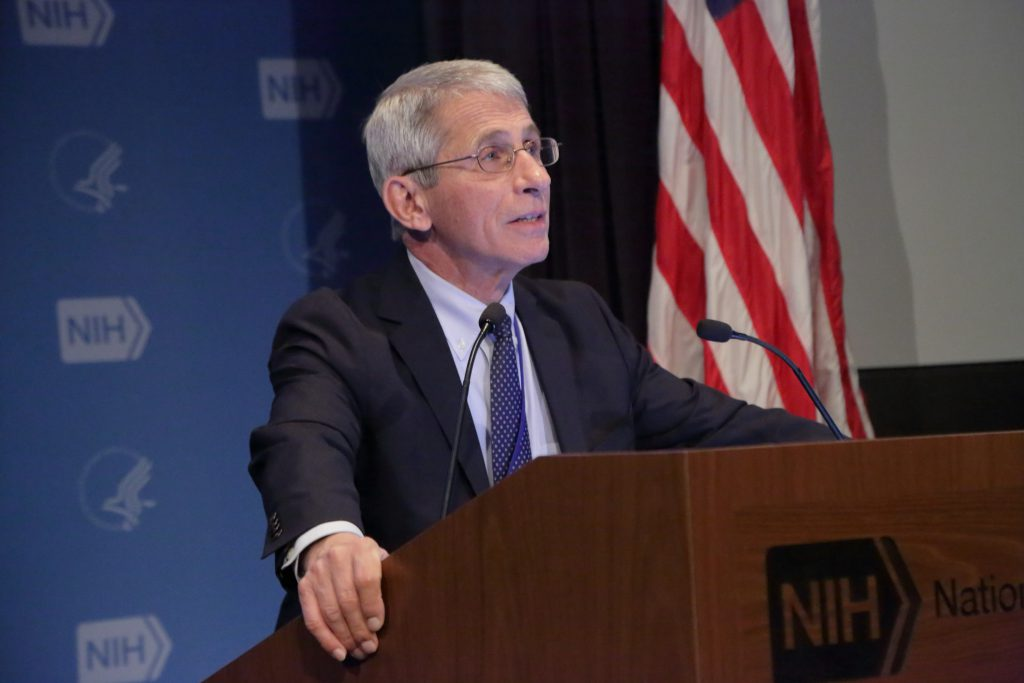 Dr. Anthony Fauci in 2016. File photo by the NIAID. (CC BY 2.0) https://creativecommons.org/licenses/by/2.0/