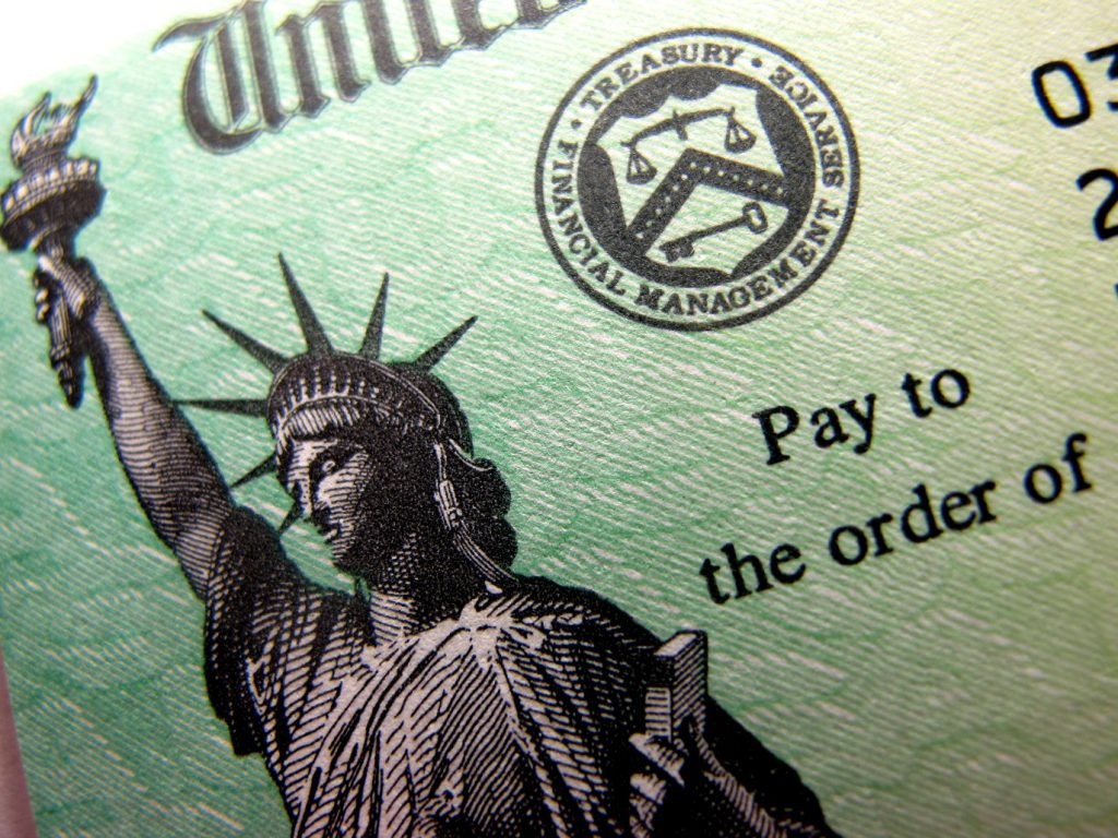 Tax refund check. Photo by flickr user frankieleon. (CC BY 2.0) https://creativecommons.org/licenses/by/2.0/