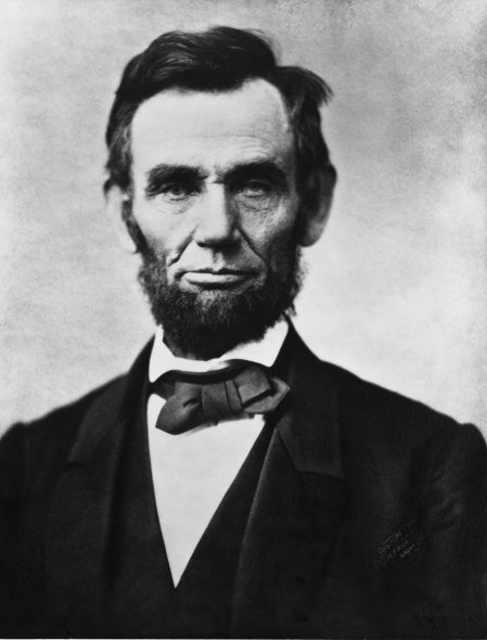 Abraham Lincoln. (Public Domain).