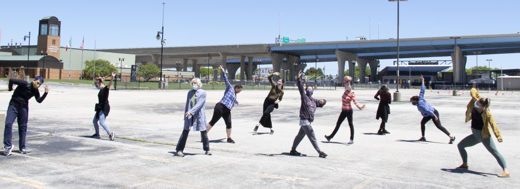 Drive-In Dance. Photo courtesy of Wild Space Dance Company.