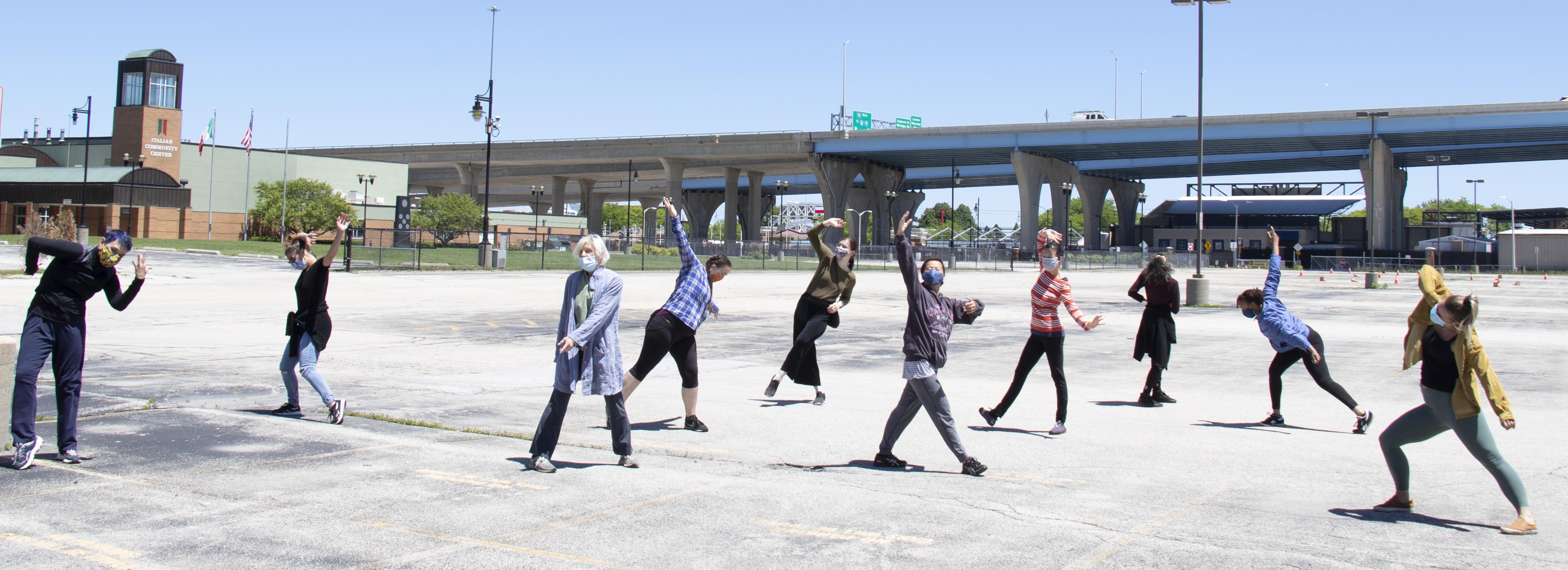 Wild Space Creates Parking Lot Dance #2: On the River
