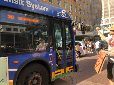 Transportation: Why Did Bus Service Shutdown During Protests?