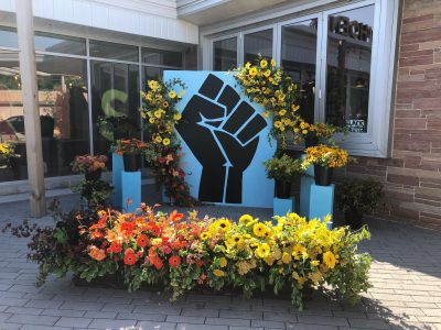 Florists For Social Justice at Sherman Phoenix