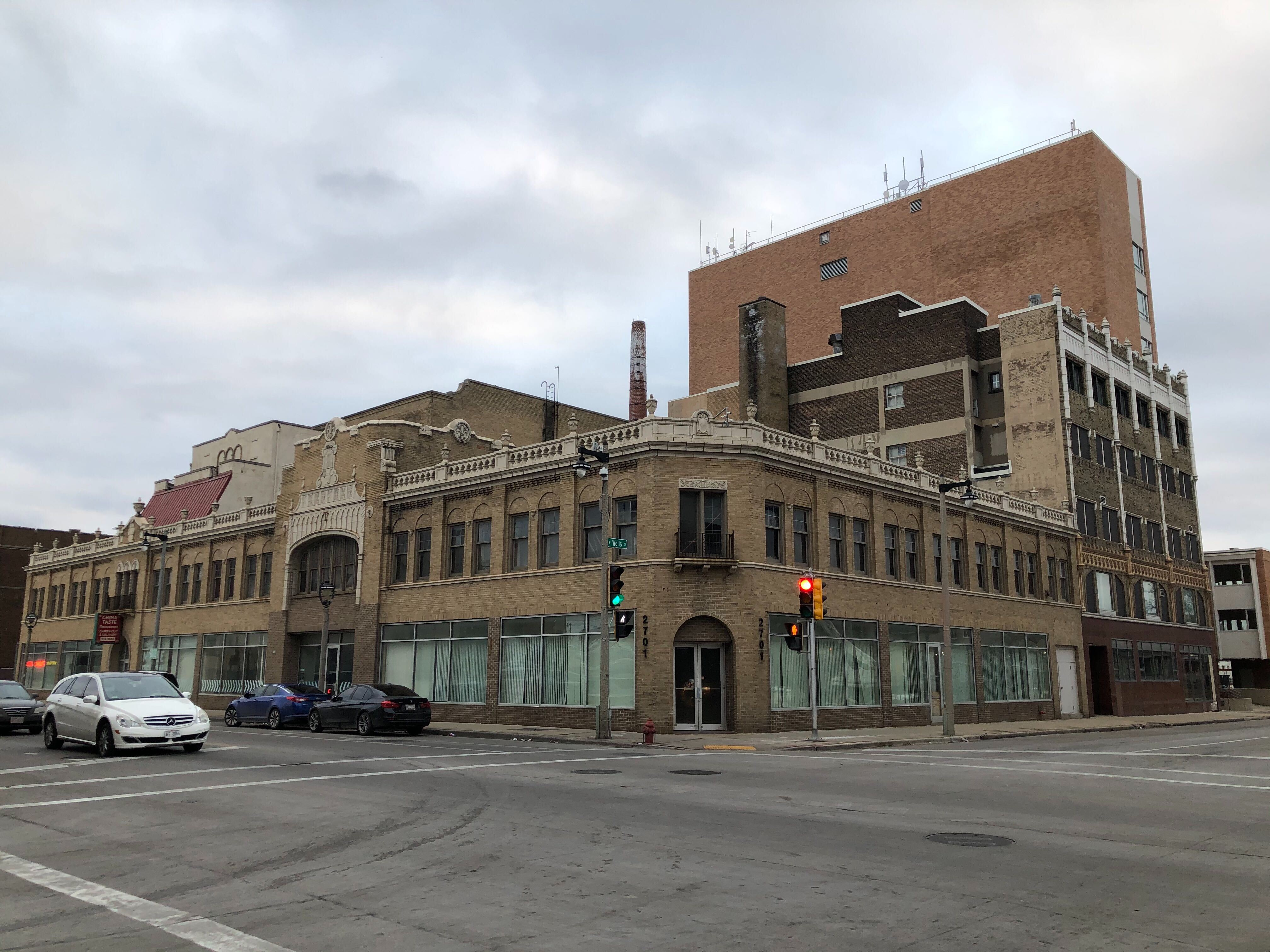 Former Tower Theater at 27th and Wells. Photo by Jeramey Jannene.