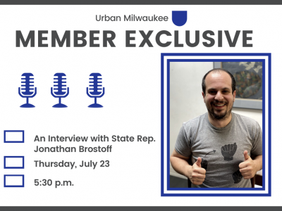 For Members Only: A Virtual Q+A with Rep. Jonathan Brostoff