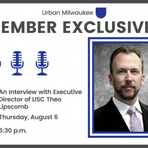 Join our member-only interview with Theo Lipscomb on 8/6 at 5:30 p.m.
