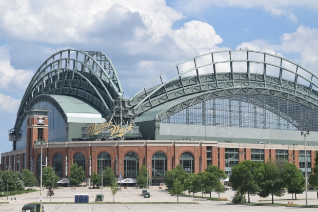 Miller Park, home of the Milwaukee Brewers. Gretchen Brown/WPR