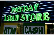 Payday loans. Photo by Aliman Senai / CC BY-SA (https://creativecommons.org/licenses/by-sa/4.0).
