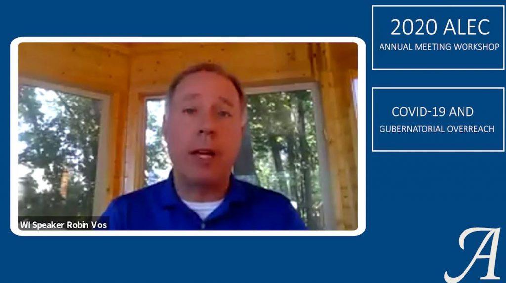Speaker Robin Vos at ALEC 2020   YouTube
