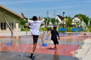 Milwaukee County Parks opened wading pools and splash pads at eight locations over the weekend. Parks officials say they hope to add more to the list in the coming weeks and that the open facilities will have limited capacity. File photo by Sue Vliet/NNS.