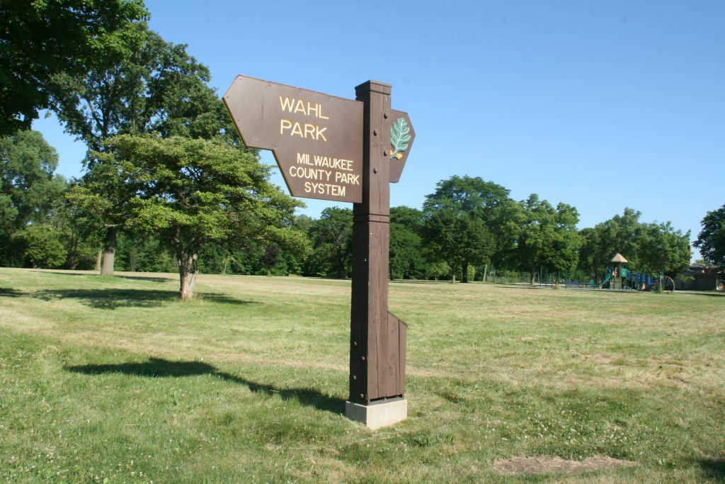 Wahl Park. Photo by Jeramey Jannene.