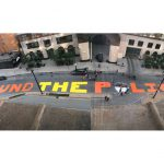 """Defund the Police"" Painted On Street In Front of Milwaukee City Hall"