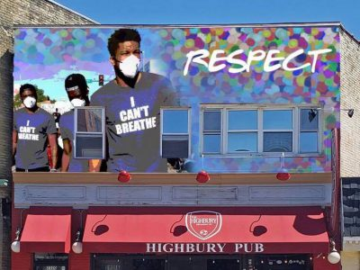 Giannis Protest Mural Planned for Bay View Bar