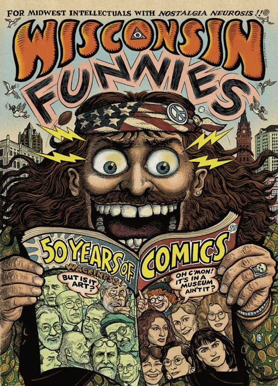 Museum of Wisconsin Art Announces Wisconsin Funnies: Fifty Years of Comics