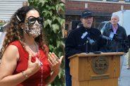 Health Commissioner Jeanette Kowalik and Public Works Commissioner Jeff Polenske. Photos by Jeramey Jannene.