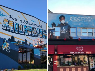 Eyes on Milwaukee: Bay View Awash In New Murals