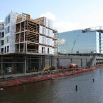 Friday Photos: Apartments Rising Alongside Office Tower at River One