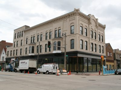 Friday Photos: National Block Apartments Will Have Event Venue, Basement Bar