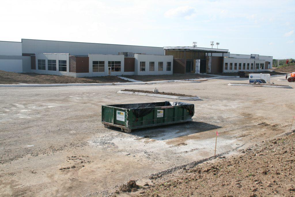 Western Building Products development. Photo by Jeramey Jannene.