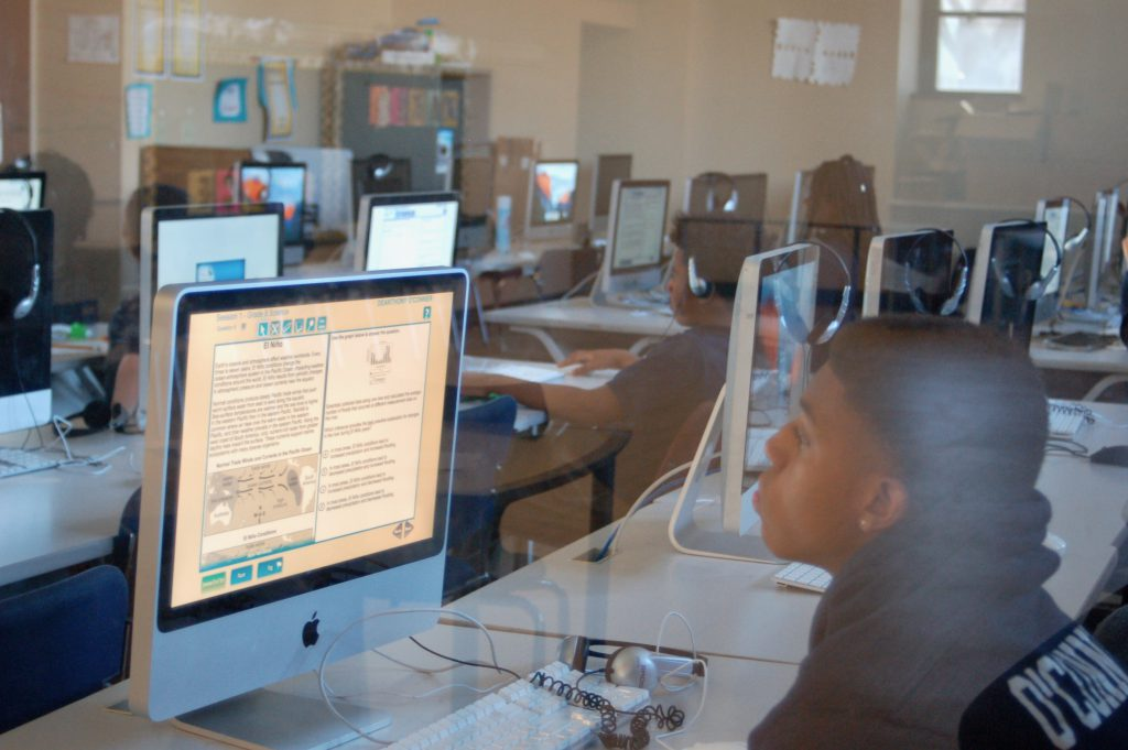 Students at Messmer Catholic Schools will be learning virtually until at least early October. File photo by Rachel Kubik/NNS.