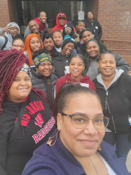 Black Leaders Organizing for Communities helped Liberate MKE survey residents. Photo provided by Black Leaders Organizing for Communities/NNS.