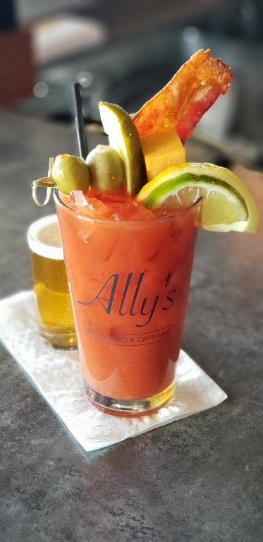 Ally's Bistro Bloody Mary. Photo courtesy of Mandel Group.