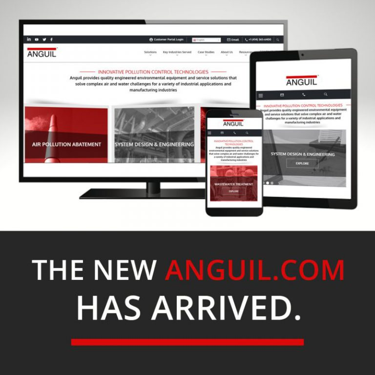 Anguil Website Launch
