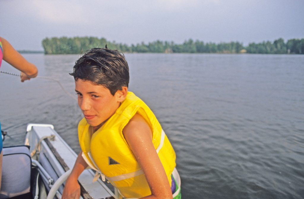 A life jacket is the first step to enjoying a day on the water. / Photo Credit: Wisconsin DNR