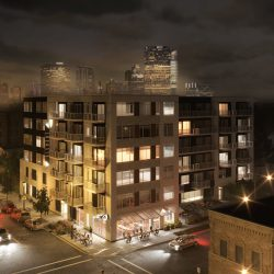 Element, proposed for 934 S. 5th St. Rendering by Korb + Associates Architects.