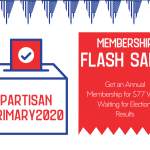 Flash Sale: Become a Member While Waiting For Election Results