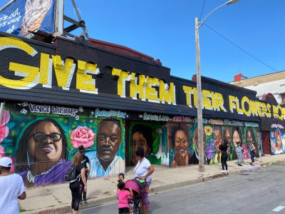 Protest Day 80: Mural of Black Leaders Unveiled