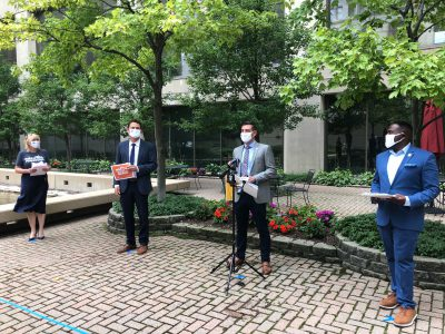 "WEDC, Milwaukee Downtown Tout ""We're All In"" Safety Campaign"