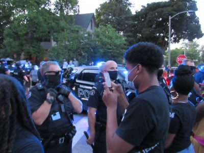 Tosa Police Arrest Peaceful Protester