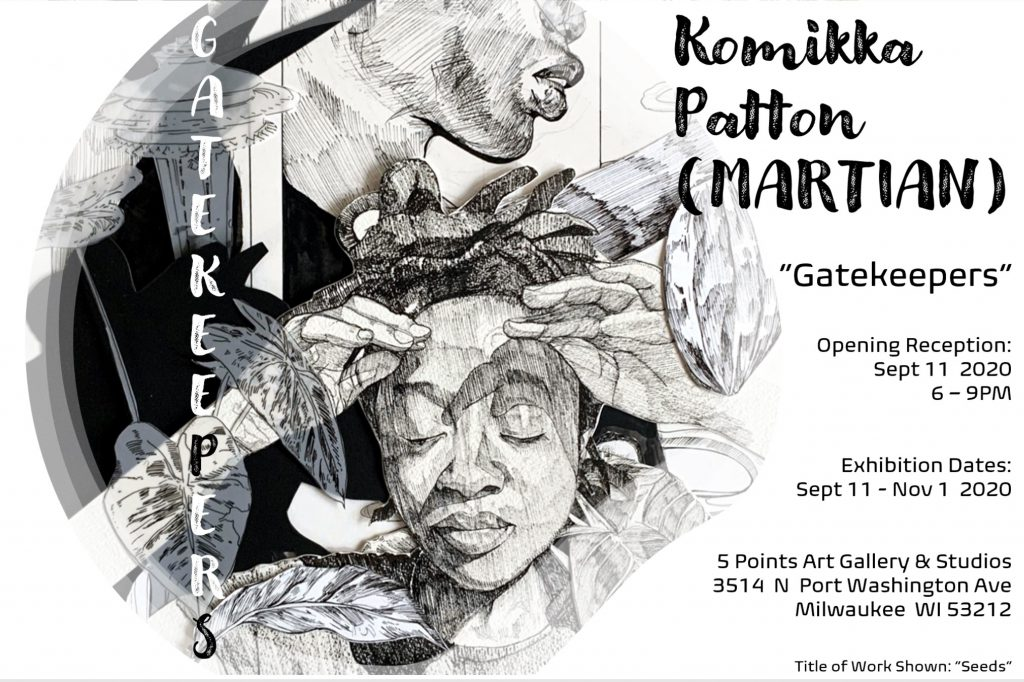 Komikka Patton Gatekeepers Flier