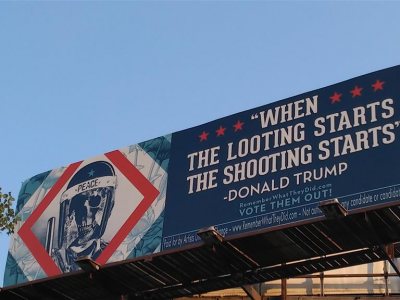 Billboard Campaign Aimed At Swing State Voters