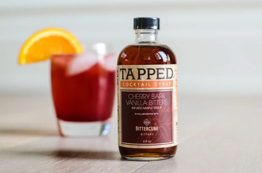 Tapped Cocktail Syrup. Photo from Bittercube.