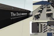 The Dock at Bradford Beach plan. Rendering by Jackie Rosen.