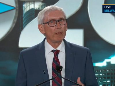 "DNC: With A ""Holy Mackerel"" Tony Evers Kicks Off DNC"