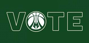 "Milwaukee Bucks Launch ""Bucks Vote"" Campaign"