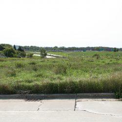 N. 124th St. and W. Bradley Rd. development site, looking south. Photo by Jeramey Jannene.