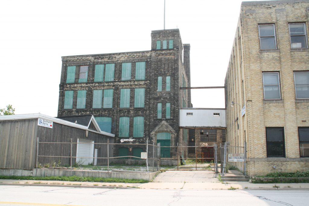 Filer & Stowell complex at 147 E. Becher St. Photo by Jeramey Jannene.