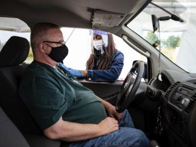Drive-Through Flu Shots Being Offered