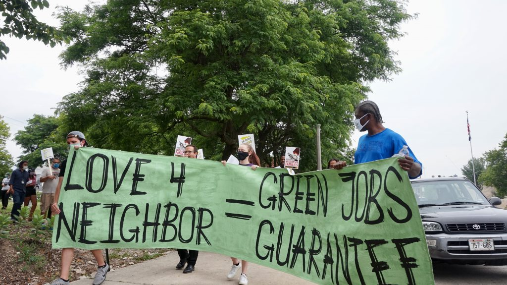 North Side Rising is fighting for environmental and economic equity for North Side residents. Photo by Bridget Fogarty/NNS.