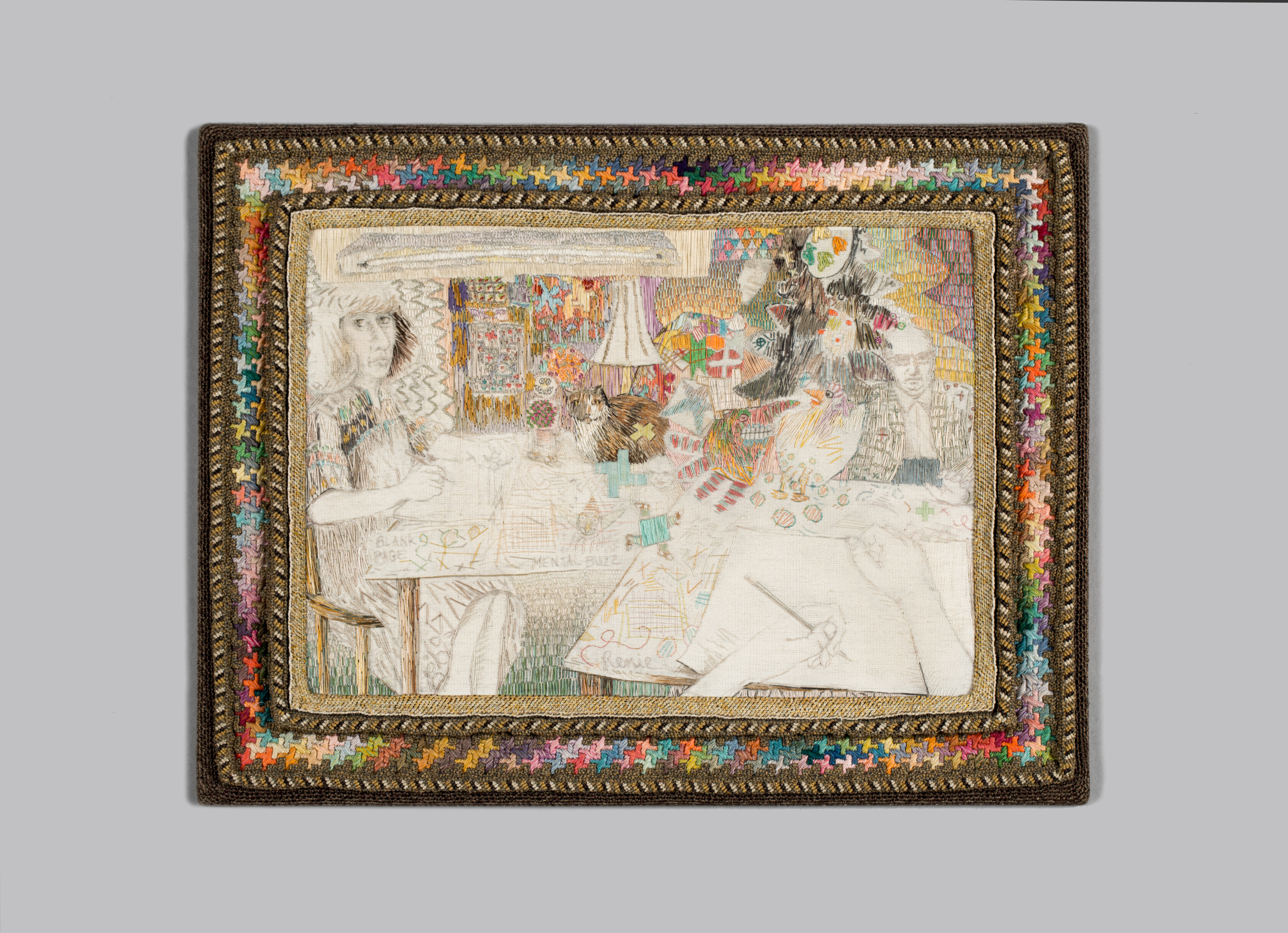 Contemporary Approaches to Needlework in Racine Art Museum Exhibition