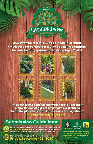 6th District Landscape Awards