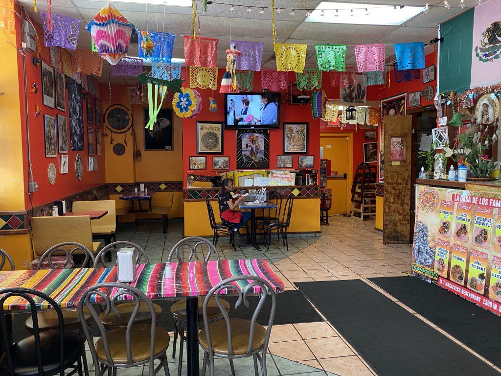 El Tlaxcalteca Restaurant. Photo taken July 12, 2021 by Cari Taylor-Carlson.