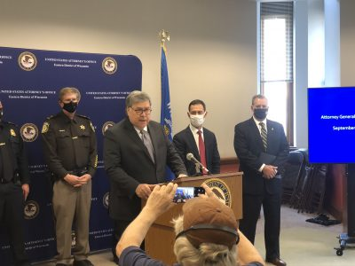 Attorney General Barr Announces Drug Ring Bust in Milwaukee