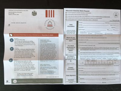 Absentee Ballot Applications Causing Confusion